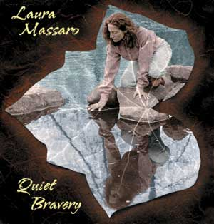 quiet bravery CD Laura Massaro cover